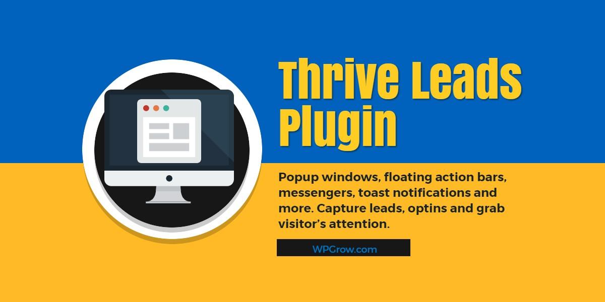 Plugin Thrive Leads -