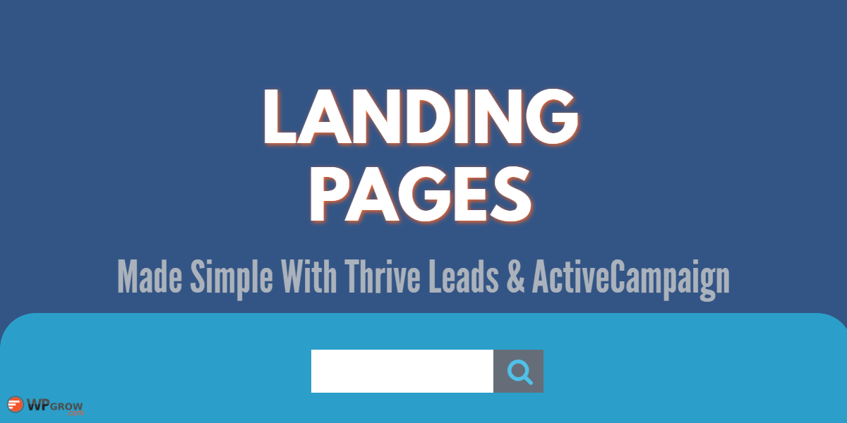 ThriveLeads Landing Pages -
