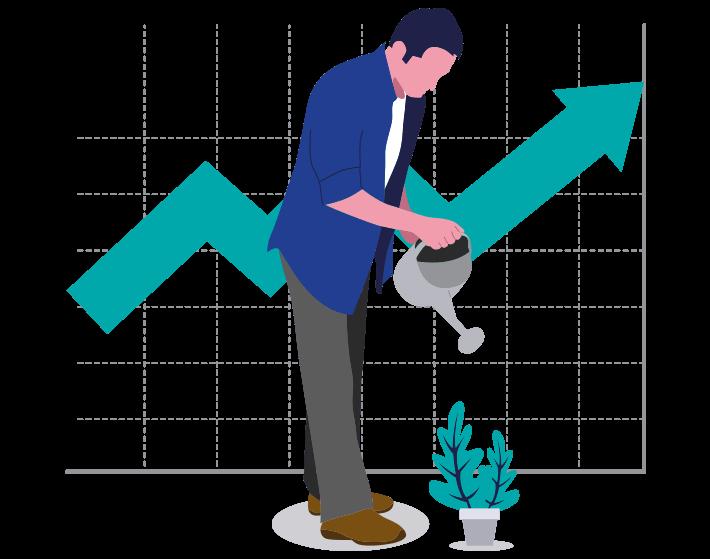 illustration growth 1 -