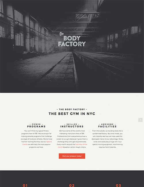 body factory template 1 -