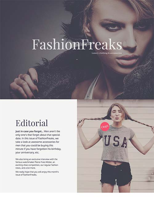 fashion freaks template 1 -