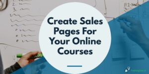 AB 3 Types of Course Sales Pages -