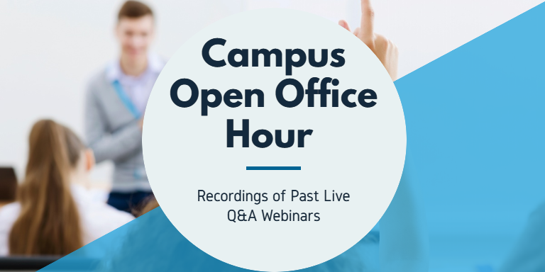 Campus Open Office Hours