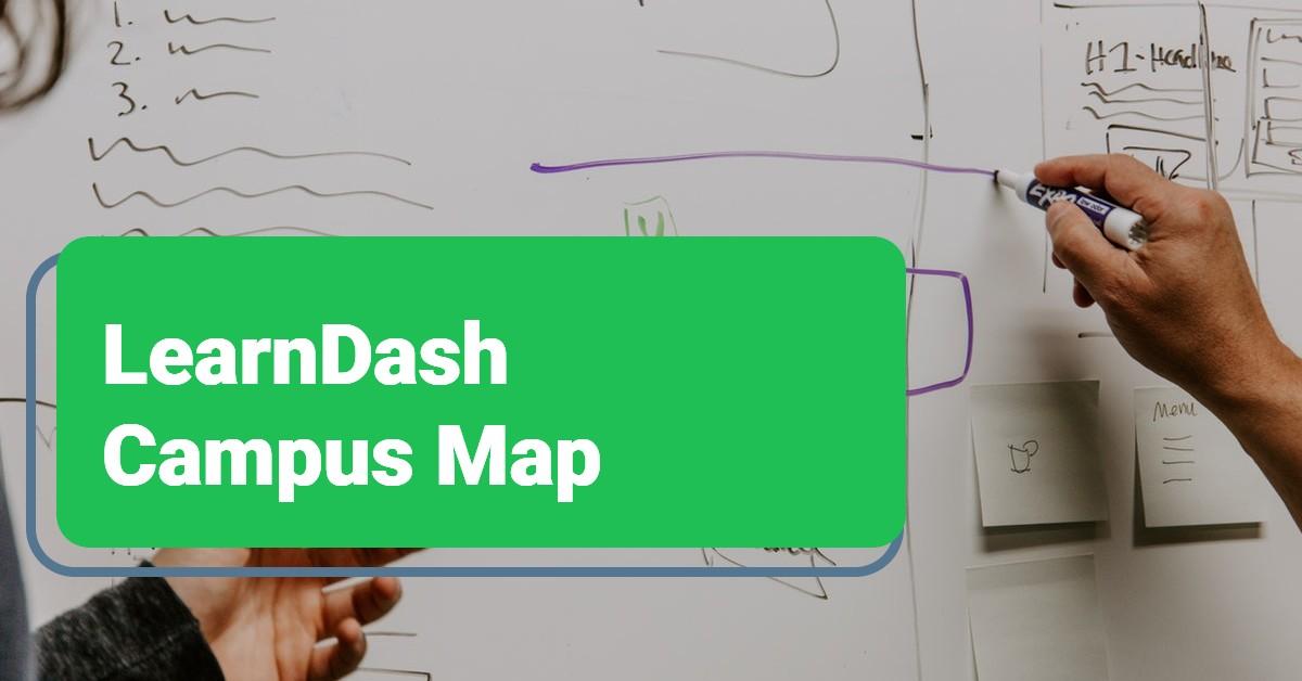 LearnDash Training Site Map