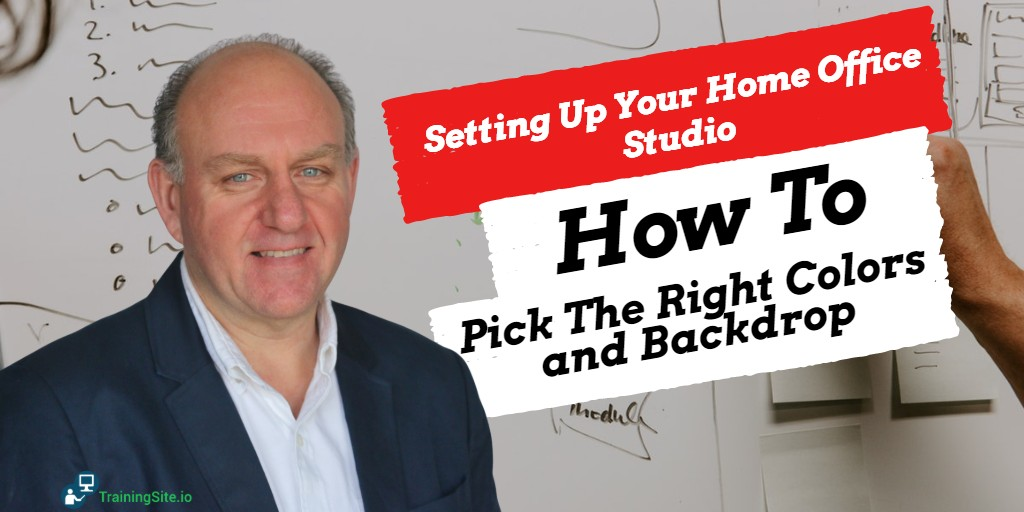 Pick The Right Color For Your Online Course Backdrop -