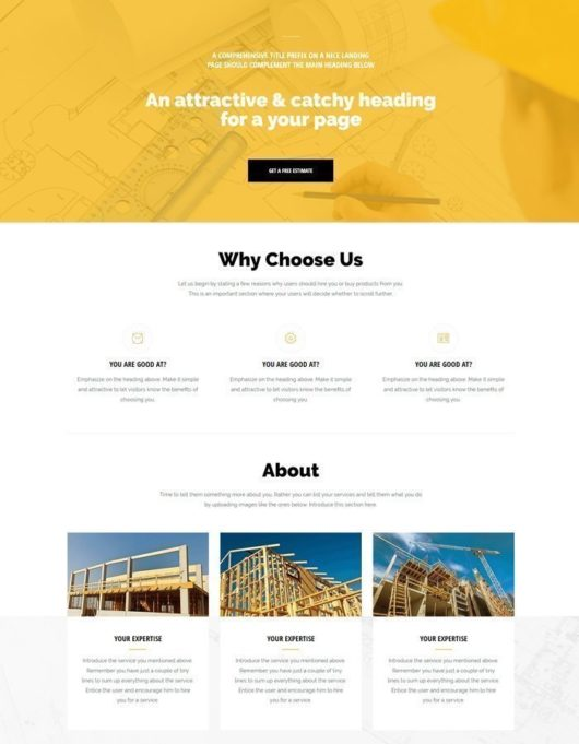Bussiness landing page 01 free img 530x681 1 -