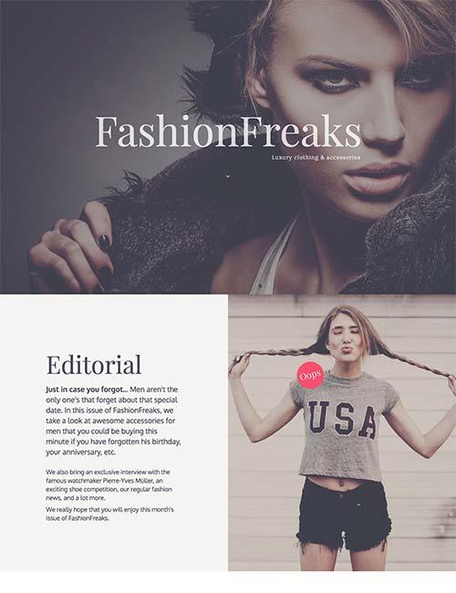 fashion freaks template 1 -
