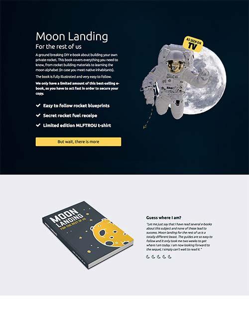 moon landing template 1 -