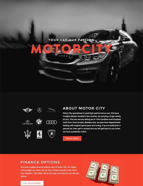 motor city template 1 -