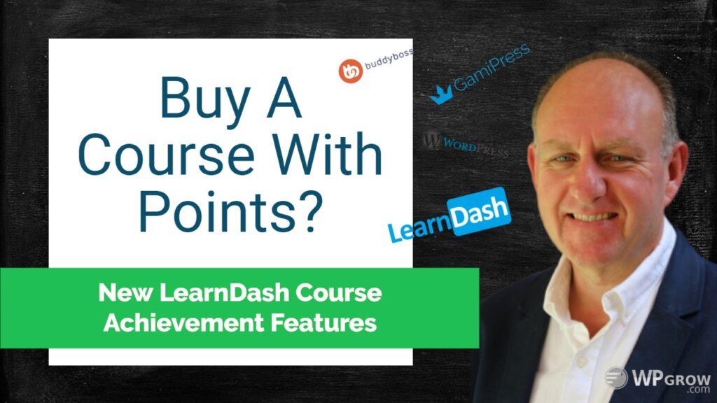 LearnDash Course Achievements Problem -